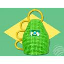 Caxirola (Jubel Rassel) Brasilien
