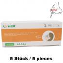 Lyher Corona Antigen Schnelltest Kit 5er Box