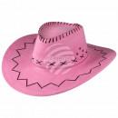 Cowboy zigzag pattern pink