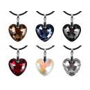 Großhandel Anhänger: Anhänger für  Halskette Motiv: Herz