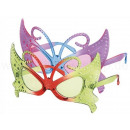 Fun Party Glasses Shape: Butterfly green / red