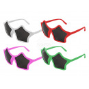 Fun Party Glasses Shape: star pink or white