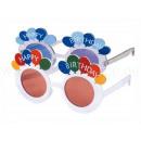 VIPER Fun Party Sonnenbrille Happy birthday