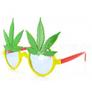 Fun Party Glasses Posta?: Weed czerwony, ?ó?ty, zi