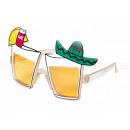VIPER Fun Party Sonnenbrille Tequila Sonnenbrillen
