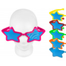 Fun Party glasses shape: XXL stars color assortmen