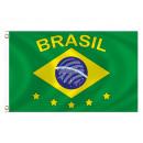 Fan Flag Flags Flags Brazil