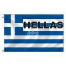 Fan Flag Flags Flags Greece