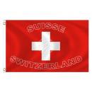 Fan Flag Flags Flags Switzerland