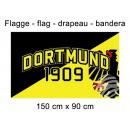 Flagge 150x90 cm Dortmund 1909 Adler