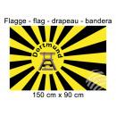 Flagge 150x90 cm Dortmund Förderturm