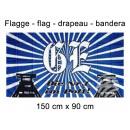 Flag 150x90 cm Gelsenkirchen the no. 1 in the pot