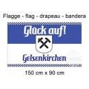 Flag 150x90 cm Gelsenkirchen