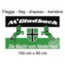 Flag 150x90 cm Mönchengladbach