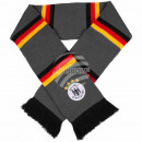 Gray scarf Germany Flag with stripes