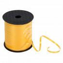 Geschenkband Dekoband gelb satiniert ca. 228,6m