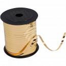 Geschenkband Dekoband gold glänzend ca. 228,6m