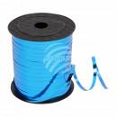 Geschenkband Dekoband blau glänzend ca. 228,6m