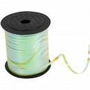 Gift ribbon deco ribbon green shades of green grad