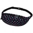 wholesale Bags & Travel accessories: Gürteltasche Hipbag points black