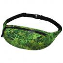 hurtownia Torby & artykuly podrozne: Gürteltasche Hipbag Weed zielone