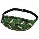 groothandel Tassen & reisartikelen: Gürteltasche  Hipbag Kakadu & Planten Green