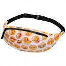 groothandel Tassen & reisartikelen: Gürteltasche Hipbag Emoticons wit