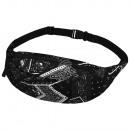 Gürteltasche Hipbag Paisley Pattern Black