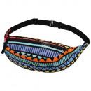 groothandel Tassen & reisartikelen: Gürteltasche Hipbag Aztec veelkleurige