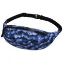 wholesale Travel Accessories: Gürteltasche Hipbag blueberries blue