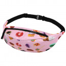 pink belt pouch Hipbag Sweets & Cats