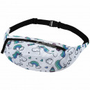 Beltbag Hipbag Unicorn Unicorns white