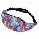 nagyker Utazási kellékek: Hip táska Hipbag Spiritual symbols multicolor