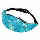 Belt bag Hipbag shells maritime light blue