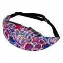 Waist bag Hipbag Maritim psychedelic multicolor
