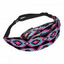 Belt Bag Hipbag Neon Shapes Black