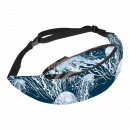 Belt bag Hipbag jellyfish maritime blue