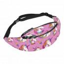 Belt Bag Hipbag Unicorns ice cream purple