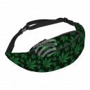 Hip bag Hipbag hemp hemp leaves floral