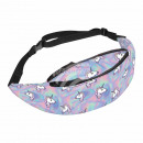 Waist bag Hipbag unicorns multicolor