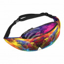 Waist bag Hipbag clouds abstract multicolor