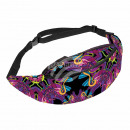 Waist bag Hipbag shapes maritime abstract