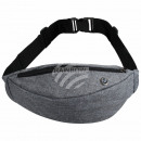 wholesale Travel Accessories: Belt Bag Hipbag Belly Bag Bumb Bag gray
