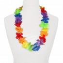 Hawaii Blumenkette classic rainbow ca. 100 cm