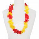 Hawaii Blumenkette classic rot gelb