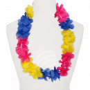 Hawaii chains blue yellow pink