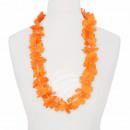 Hawaii Blumenkette classic orange ca. 100 cm