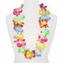 Hawaiian bloem ketting luxe multicolor