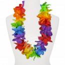 Maxi Hawaiian Flower Necklaces rainbow