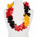 Maxi Hawaiian Flower Necklaces black red yellow